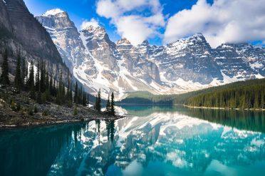 Mountain Reflections, Canada