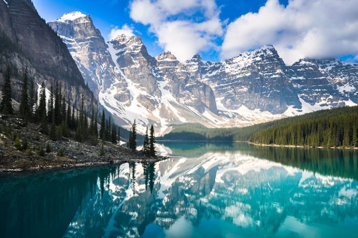 Mountain Reflections, Canada