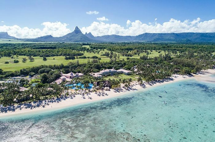 Sugar Beach Resort Aerial View