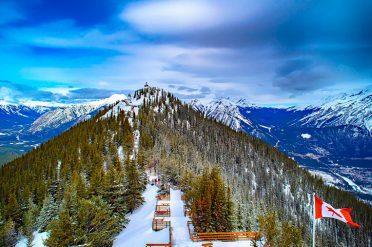 Sulphur Mountain, Canada