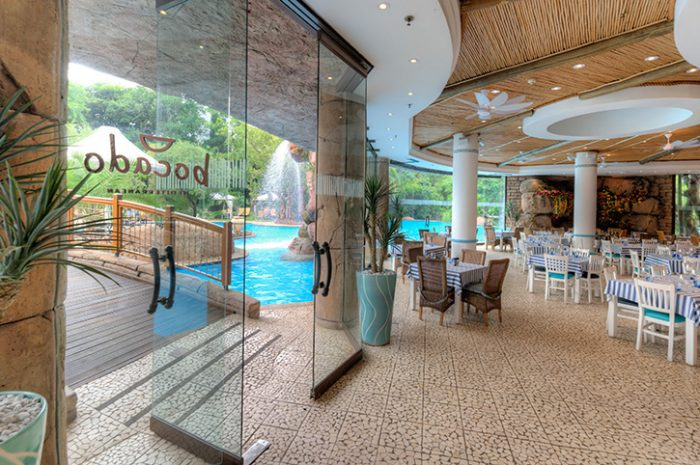 Sun City Cascades Hotel Pool And Dining