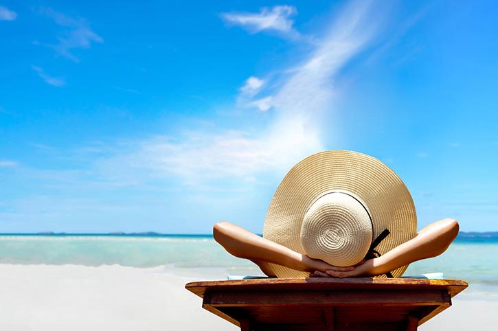 Sun hat in Paradise