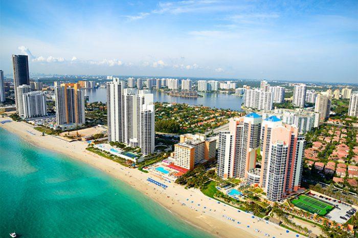 Sunrise Beach in Ft.Lauderdale