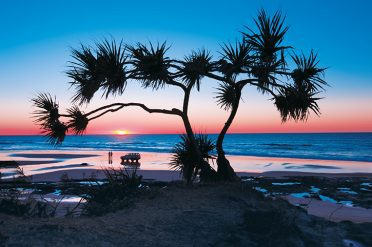 Sunset on Fraser Island, Queensland