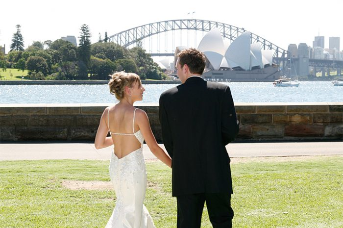 Sydney Botanical Gardens Wedding