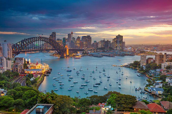 Sydney Harbour. New South Wales, Australia