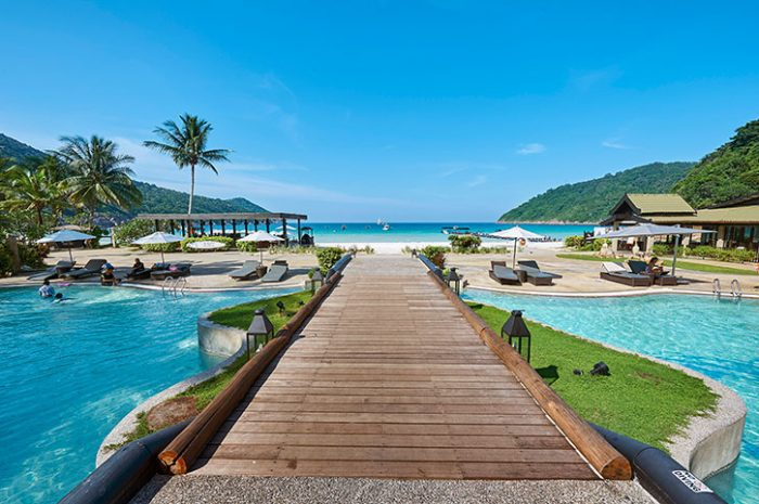 Taaras Beach Resort Swimming Pool
