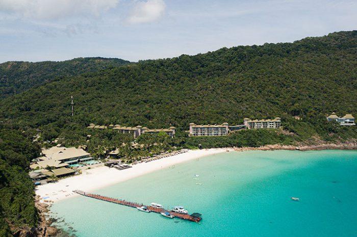 Taaras Beach Resort aerial