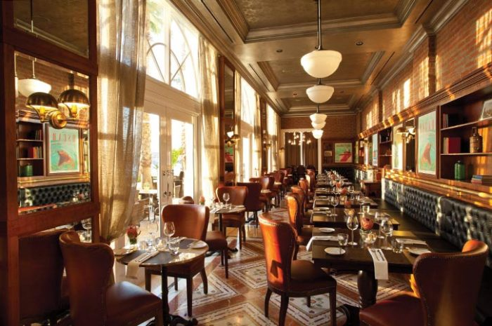 Table Bay Hotel Camissa Restaurant