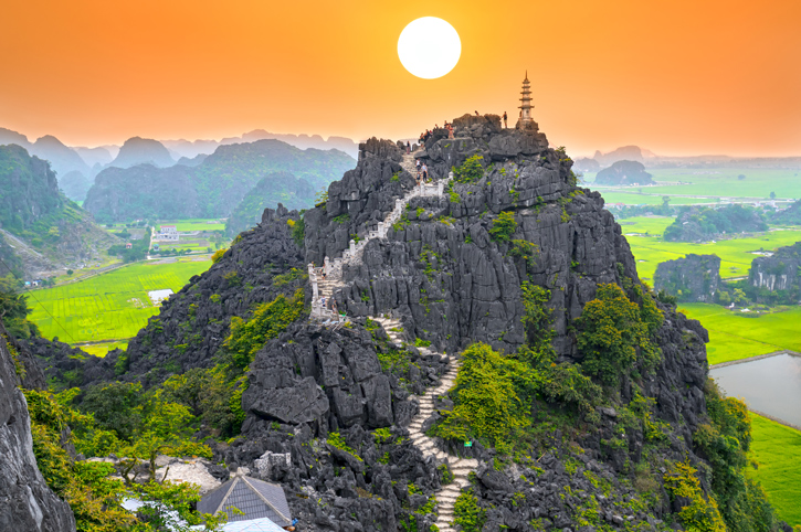 Tam Coc viewpoint, Ninh Binh