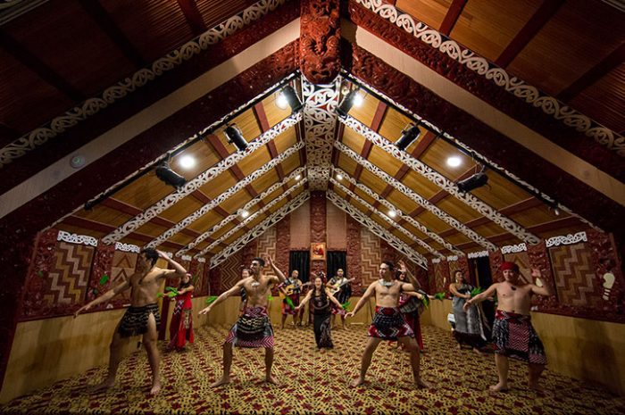 Hangi feast and concert, Te Puia