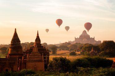Temple in Burma