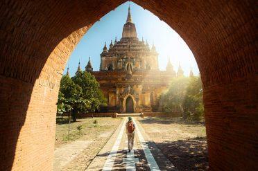 Temples In Bagan Burma