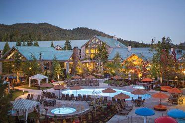 Tenaya Lodge Pool Area