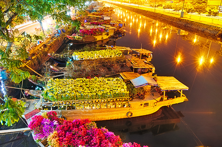 Tet Flowers, Saigon