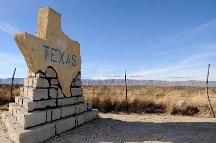 Texas Sign, South USA