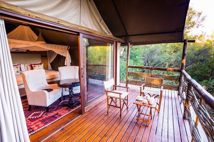 Thakadu River Camp Private Deck