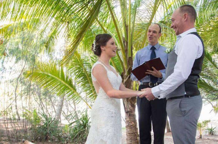 Thala Beach Wedding Couple