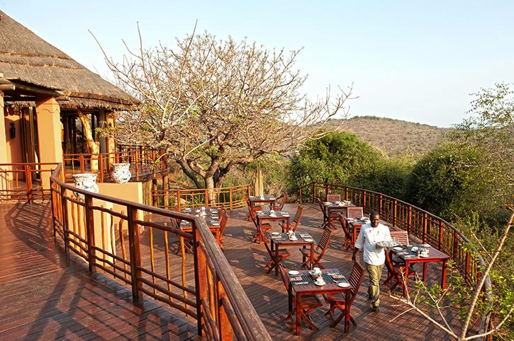 Thanda Safari Lodge Breakfast