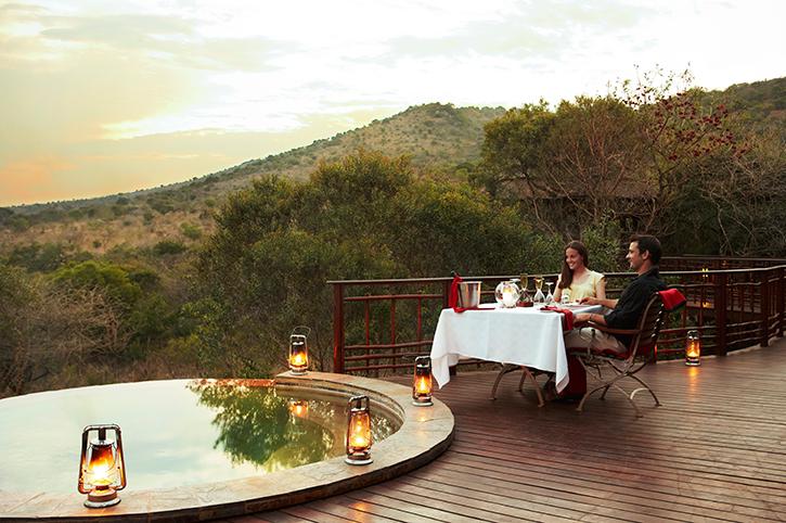 Thanda Safari Lodge Private Deck