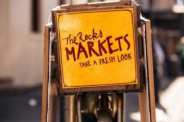 The Rocks Markets, Sydney