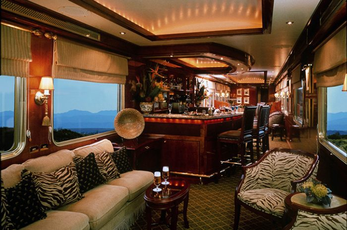 The Blue Train Lounge, South Africa