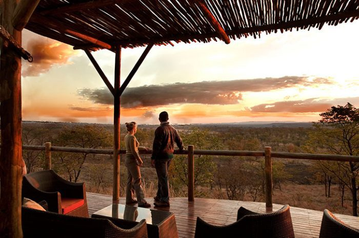 The Elephant Camp Sunset Views