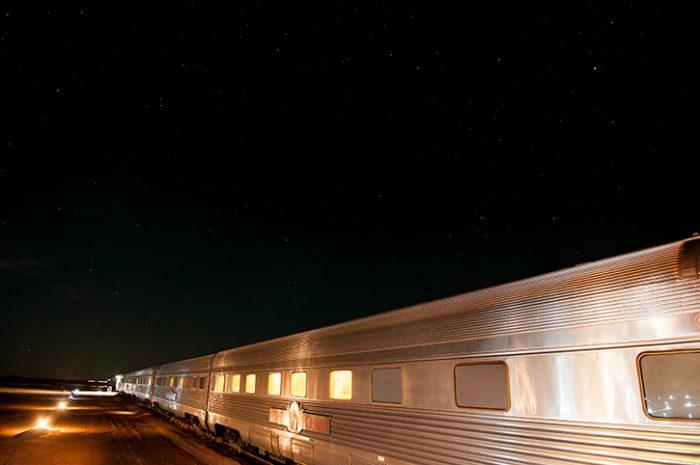 The Ghan Expedition, Manguri Siding, Train, Australia