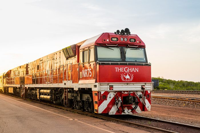 The Ghan Front Facing