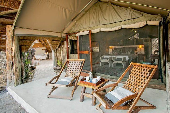 The Hide Deluxe Tent Veranda