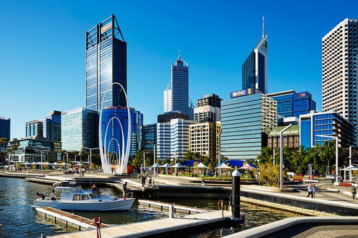 Elizabeth Quay, Perth, Australia
