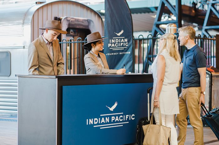 Indian Pacific Check In, Sydney, Australia