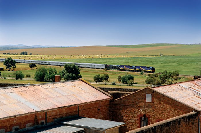 The Indian Pacific Scenic Greenery