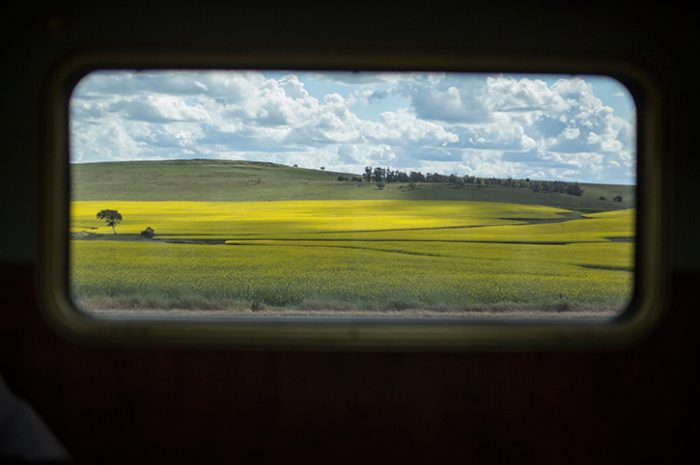 Indian Pacific Window View