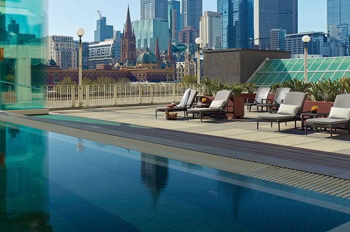 Swimming Pool, The Langham, Melbourne, Australia