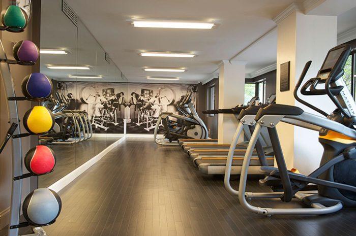 The Melrose Hotel Gym