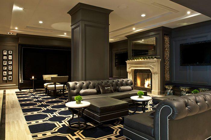 The Melrose Hotel Lobby