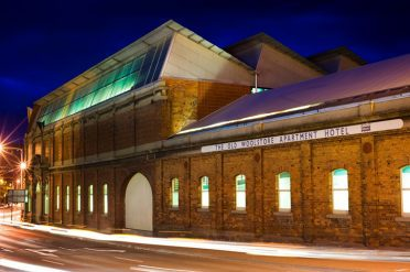 The Old Woolstore Exterior Night