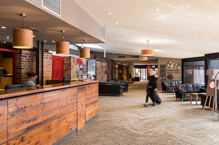 The Old Woolstore Lobby