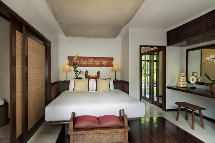 The Pavillions Villa Bedroom