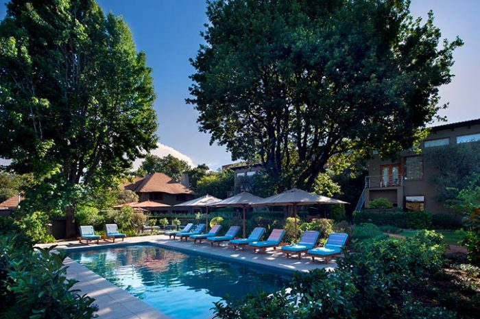 The Peech Hotel Pool And Gardens