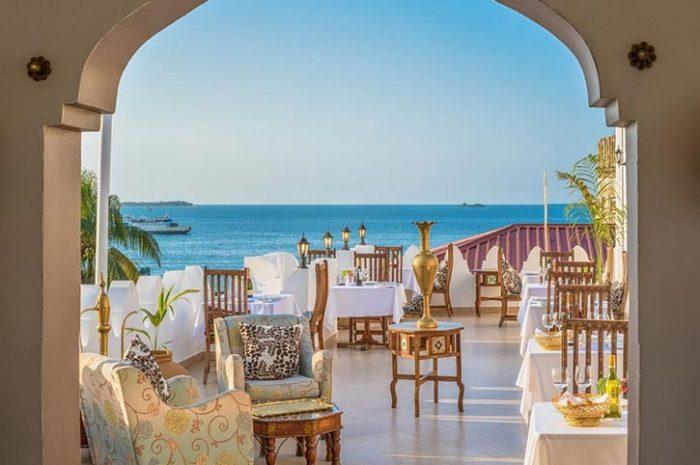 The Seyyida Hotel Terrace View