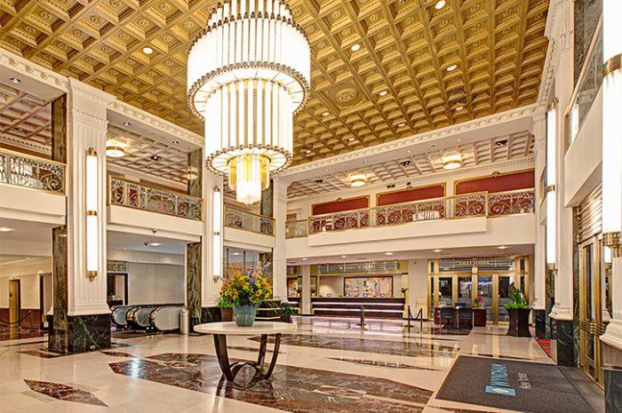 The Wyndham New Yorker Lobby