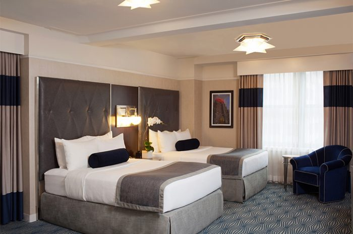 The Wyndham New Yorker Twin Room