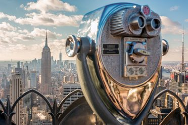 View from the Top of the Rock, New York, USA