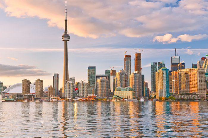 Toronto Skyline at Dusk, Canada
