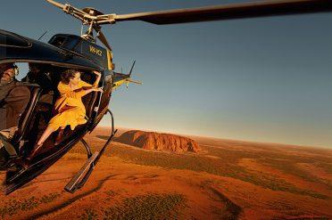 Uluru by Helicopter, Australia