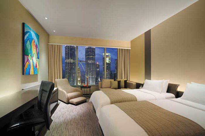 Twin Towers View Room