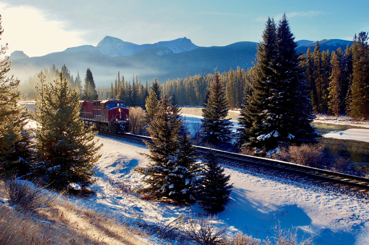 Train, Banff National Park