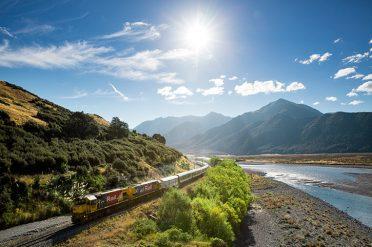 Tranz Alpine Scenery